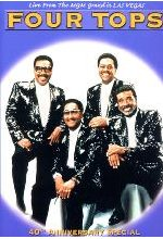 The Four Tops - 40th Anniversary Special DVD-Cover