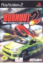 Burnout 2 - Point of Impact Cover