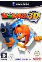 Worms 3D Cover