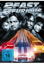 2 Fast 2 Furious DVD-Cover