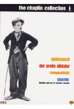 Charlie Chaplin Collection - Goldrausch/Der große Diktator/Rampenlicht/Charlie - The Life and Art of Charles Chaplin  [7 DVD-Cover