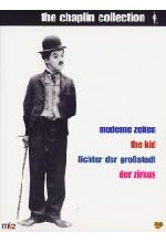 Charlie Chaplin Collection - Moderne Zeiten/The Kid/Lichter der Großstadt/Der Zirkus  [8 DVDs] DVD-Cover