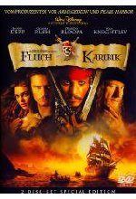 Fluch der Karibik  [SE] [2 DVDs] - Pirates of the Caribbean 1 DVD-Cover