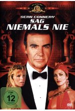 James Bond - Sag niemals nie DVD-Cover