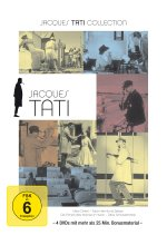 Jacques Tati Collection  [4 DVDs] DVD-Cover