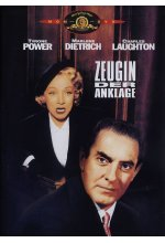 Zeugin der Anklage DVD-Cover
