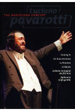 Luciano Pavarotti - The Barcelona Concert DVD-Cover