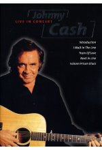 Johnny Cash - Live in Concert DVD-Cover