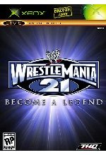 WWE Wrestlemania 21 Cover
