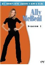 Ally McBeal - Season 2  [6 DVDs] DVD-Cover