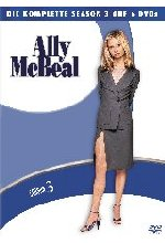 Ally McBeal - Season 3  [6 DVDs] DVD-Cover