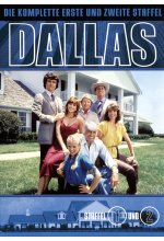 Dallas - Staffel 1+2  [7 DVDs] DVD-Cover