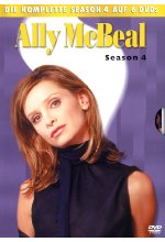 Ally McBeal - Season 4  [6 DVDs] DVD-Cover