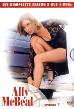 Ally McBeal - Season 5  [6 DVDs] DVD-Cover