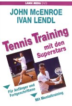 Tennis Training mit den Superstars DVD-Cover