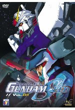 Gundam Seed Vol. 01/Episode 01-05 DVD-Cover