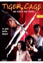 Tiger Cage Vol. 2 - Die Flucht des Tigers DVD-Cover