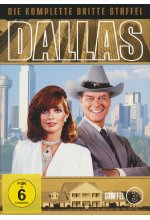 Dallas - Staffel 3  [7 DVDs] DVD-Cover