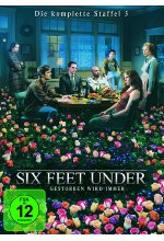 Six Feet Under - Staffel 3  [5 DVDs] DVD-Cover