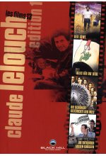 Claude Lelouch Edition - Box-Set 1  [4 DVDs] DVD-Cover