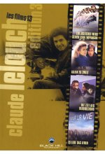 Claude Lelouch Edition - Box-Set 3  [4 DVDs] DVD-Cover