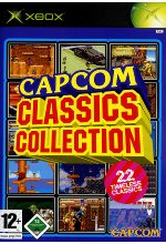 Capcom Classic Collection Cover