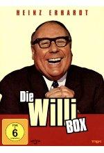Heinz Erhardt - Die Willi Box  [4 DVDs] DVD-Cover