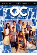 O.C. California - Staffel 2  [7 DVDs] DVD-Cover
