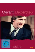 Gerard Depardieu - Edition Nr. 1  [4 DVDs] DVD-Cover