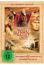 Die zehn Gebote - 50th Annivers. Coll.  [3 DVDs] DVD-Cover