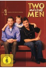 Two and a Half Men - Staffel 1  [4 DVDs] DVD-Cover