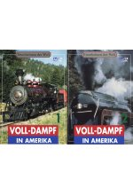 Volldampf in Amerika - Teil 1-4  [2 DVDs] DVD-Cover