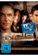 NCIS - Naval Criminal Investigate Service/Season 1.1  [3 DVDs] DVD-Cover