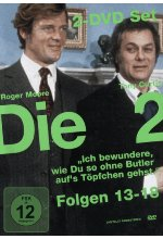 Die Zwei - TV-Serie - Folge 13-18  [2 DVDs] DVD-Cover