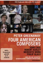 Peter Greenaway - Four American Composers  (OmU)  [2 DVDs] DVD-Cover