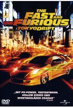 The Fast and the Furious: Tokyo Drift DVD-Cover