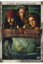 Pirates of the Caribbean - Fluch der Karibik 2  [SE] [2 DVDs] DVD-Cover