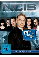 NCIS - Naval Criminal Investigate Service/Season 2.2  [3 DVDs] DVD-Cover