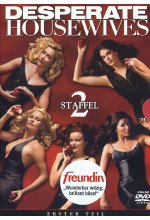 Desperate Housewives - Staffel 2/Teil 1  [4 DVDs] DVD-Cover