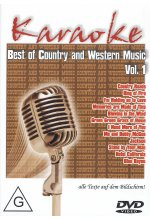 Karaoke - Best of Country and Western Vol. 1 DVD-Cover