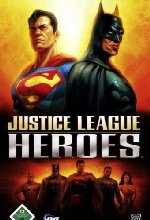 Justice League Heroes Cover