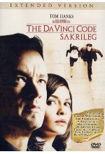 The Da Vinci Code - Sakrileg [2 DVDs] - Extended Version DVD-Cover