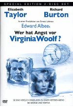 Wer hat Angst vor Virginia Woolf?  [SE] [2 DVDs] DVD-Cover
