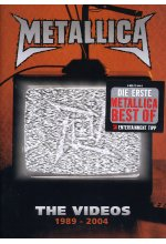 Metallica - The Videos 1989-2004 DVD-Cover
