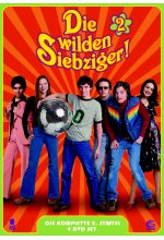 Die wilden Siebziger! - Staffel 2  [4 DVDs] DVD-Cover