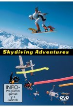 Skydiving Adventures DVD-Cover