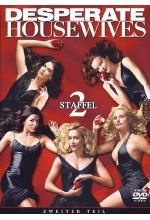 Desperate Housewives - Staffel 2/Teil 2  [4 DVDs] DVD-Cover