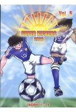 Super Kickers 2006 - Captain Tsubasa Vol. 5 DVD-Cover