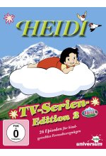 Heidi - TV-Serien-Edition 2/Folgen 27-52  [4 DVDs] DVD-Cover