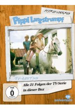Pippi Langstrumpf  - TV-Serien-Box  [5 DVDs] DVD-Cover